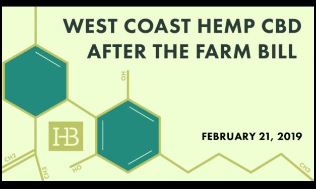 FREE Webinar February 21: West Coast Hemp CBD